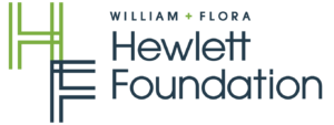 william and flora hewlett foundation logo