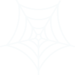 white spiderweb illustration