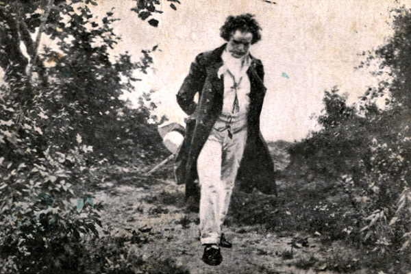 Beethoven walk in nature