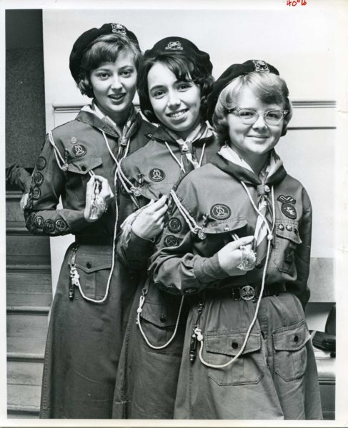 Girl Guides of Canada circa 1964.