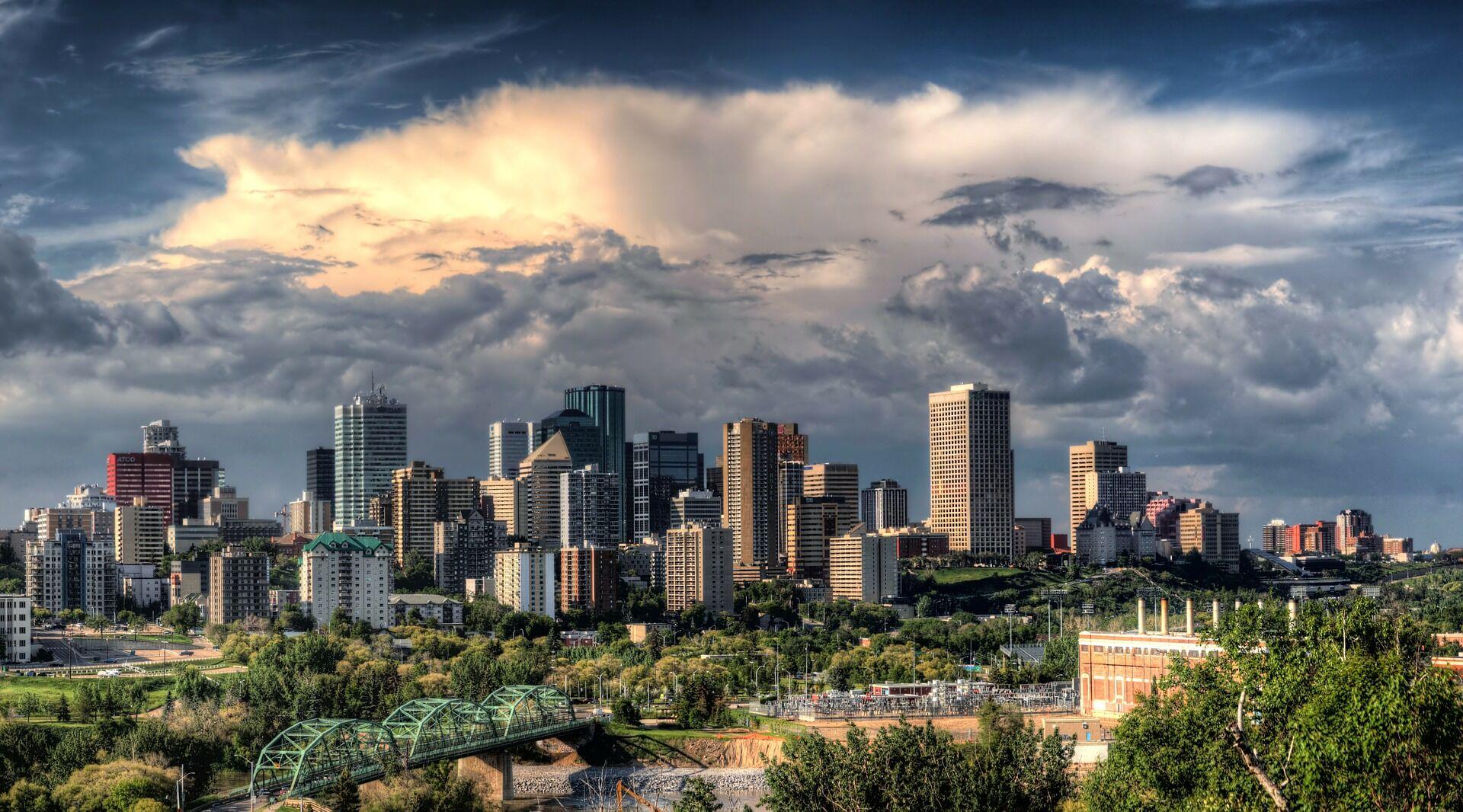 Edmonton downtown skyline