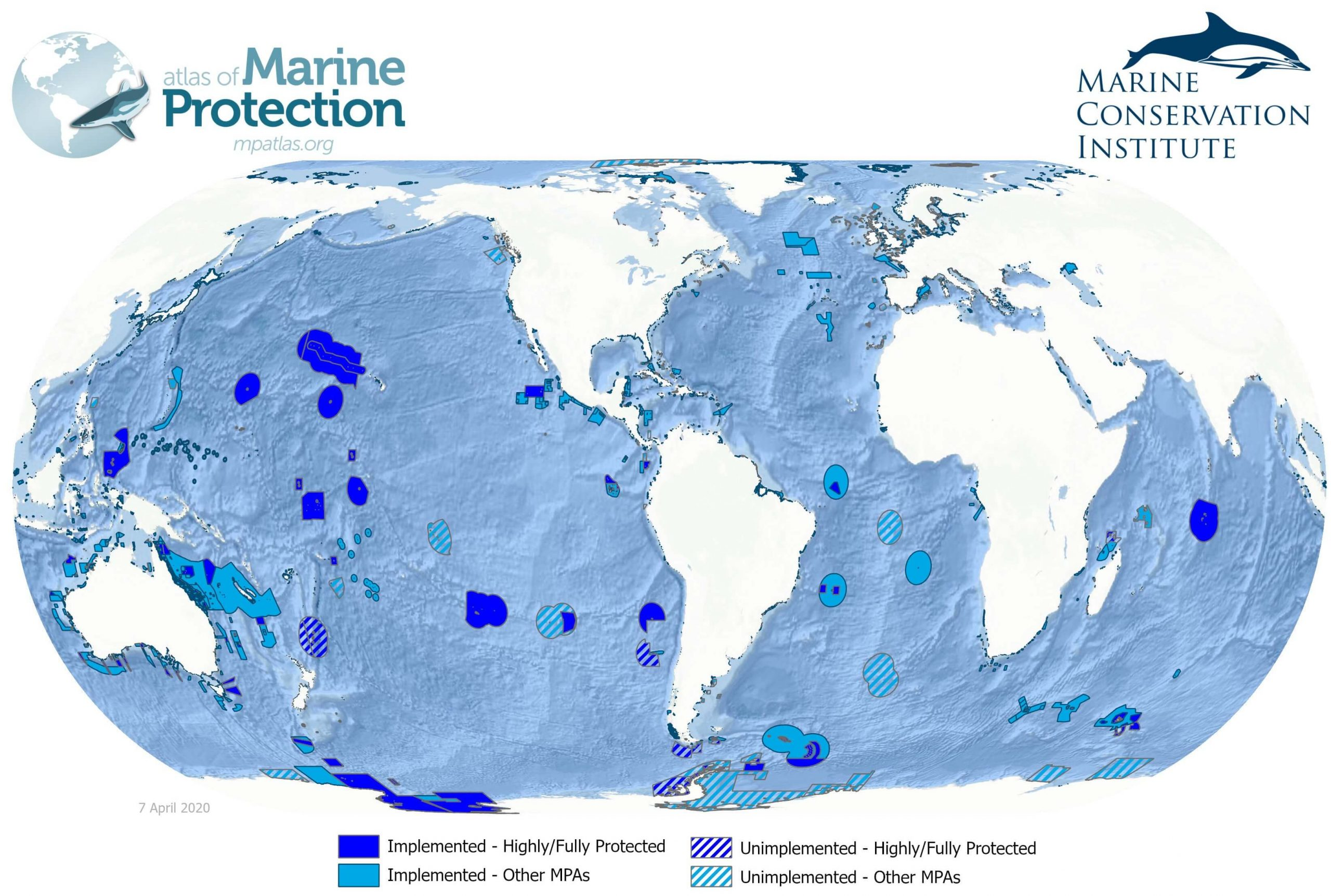 Map of Marine Protected Areas